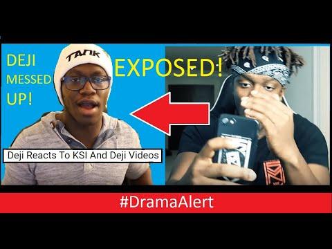 Deji gets EXPOSED by KSI! ( Justin Bieber Reacts ) #DramaAlert Ninja vs Dr Disrespect ? WOW!
