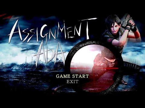 RESIDENT EVILl 4 - Assignment Ada  1/2