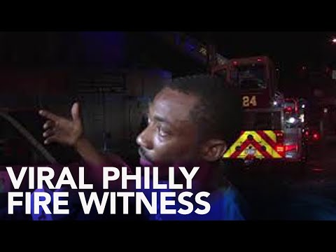 Philly Fire Witness Goes Viral For Shading Eagles Player Nelson Agholor