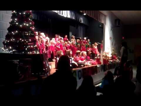 Jingle Bells - 2014 Gulf Elementary's Christmas Concert