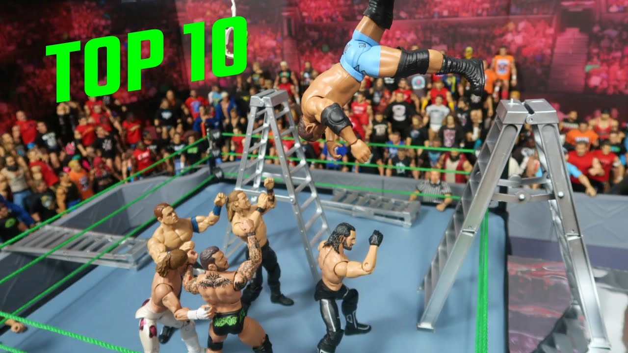 TOP 10 GCW WRESTLEMANIA 8 MOMENTS (WWE Figure OMG Moments)