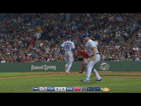 TOR@BOS: Blue Jays score nine to come back in 7th