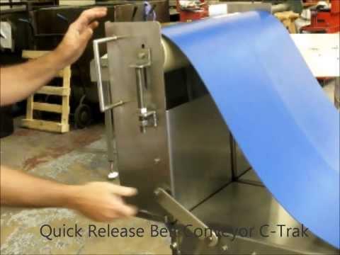 Quick Release Belt Conveyor