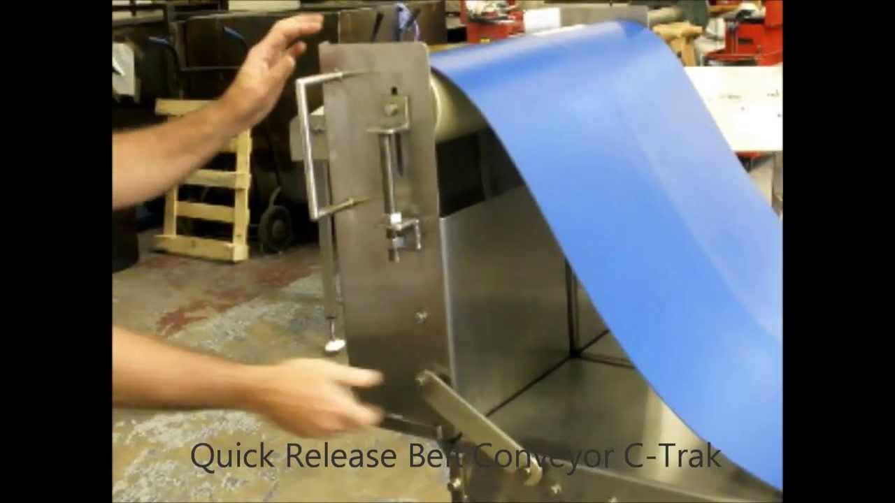 Quick Release Belt Conveyor Youtube