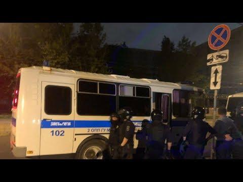 СРОЧНО⚡️Алексея Навального отравили? Сход у 64 больницы в Москве / LIVE 28.07.19 - Видео онлайн