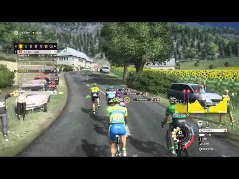 Tour de France 2015 - PS4 - Stage 18 [ Gap - St. jean ] Majka going polka - Part 1