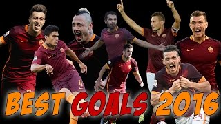 AMAZING GOALS AS ROMA 2016