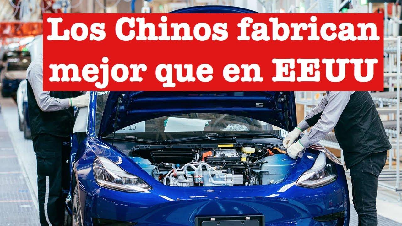 Los Tesla Model 3 Made in China son MEJORES que los de EEUU!