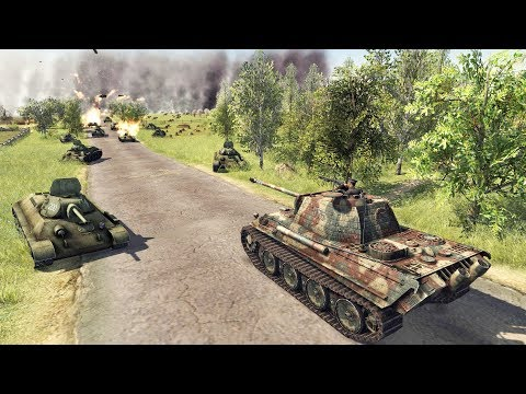 The 1,000,000 Man RED ARMY Surrounds BERLIN 1945 | Men of War: Assault Squad 2