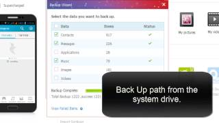 How to take backup and restore of your contacts, messages and apps from android mobile? HD