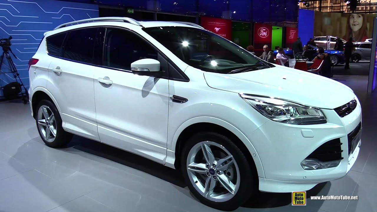 2015 ford kuga exterior and interior walkaround 2014 paris auto show youtube. Black Bedroom Furniture Sets. Home Design Ideas