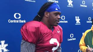 Terry Wilson after the Bye