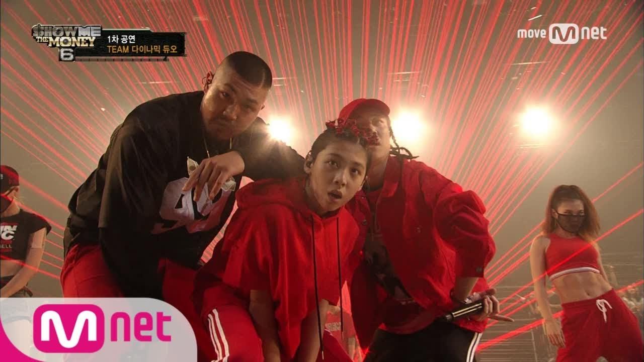 show me the money6 [8회/단독] 넉살 & 조우찬 - 부르는게 값이야 (feat. 개코, 던밀스) @ 1차 공연 170818 EP.8