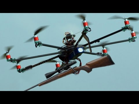Should it be legal to hunt with drones?