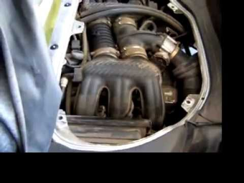 porsche boxster engine access