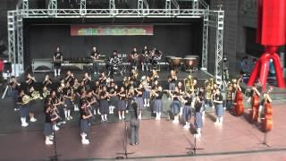 京都駅ビルコンサート2015 京都市立松尾中学校吹奏楽部