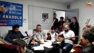 Gambar cover Radyo Anadolu - Fatih Mehmet Özdemir ve Öğrencileri - Canlı Yayın - 17 Mayıs 2019