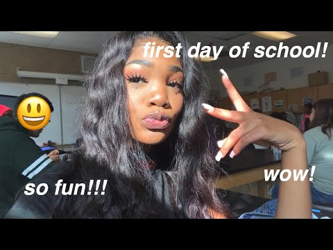 LAST FIRST DAY OF SCHOOL VLOG 2018