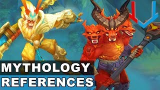 All Gods,Demons and Legends Skins - Mythology References in League of Legends
