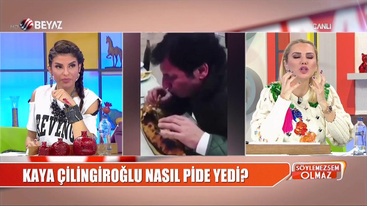 Kaya Çilingiroğlu, oğlu Kaya ile böyle pide yedi!
