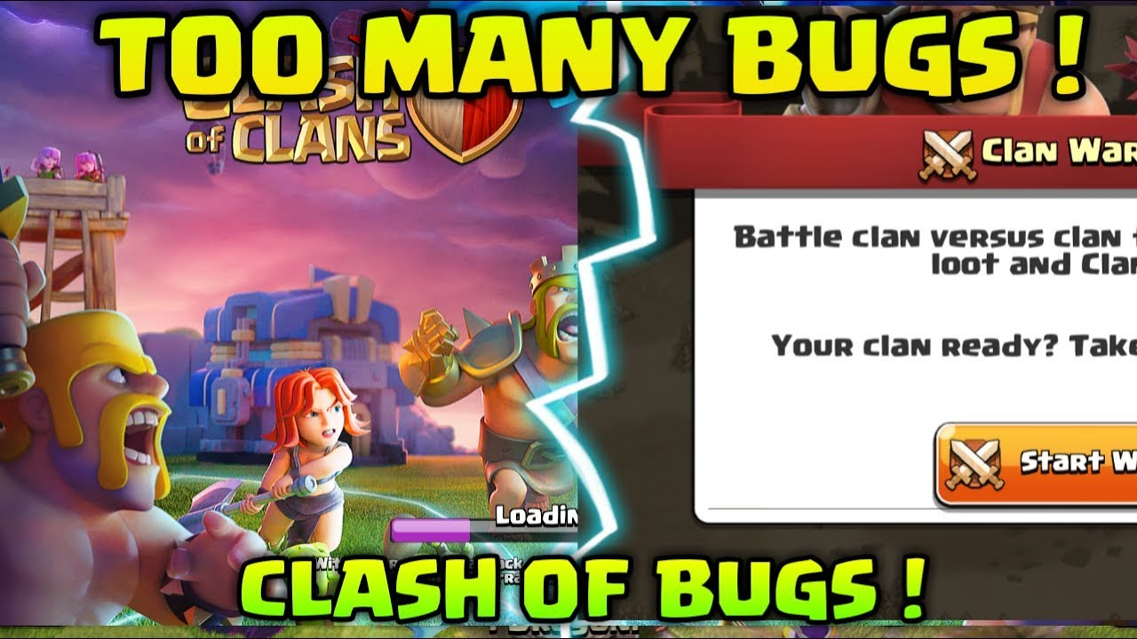 BIGGEST BUGS OF CLASH OF CLANS ! TOWNHALL 12 UPDATE PROBLEMS !