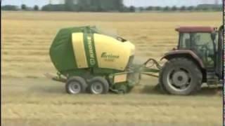 Krone Fortima 1500 V / 1800 V - round balers (english)   -   Video ...............Oeni