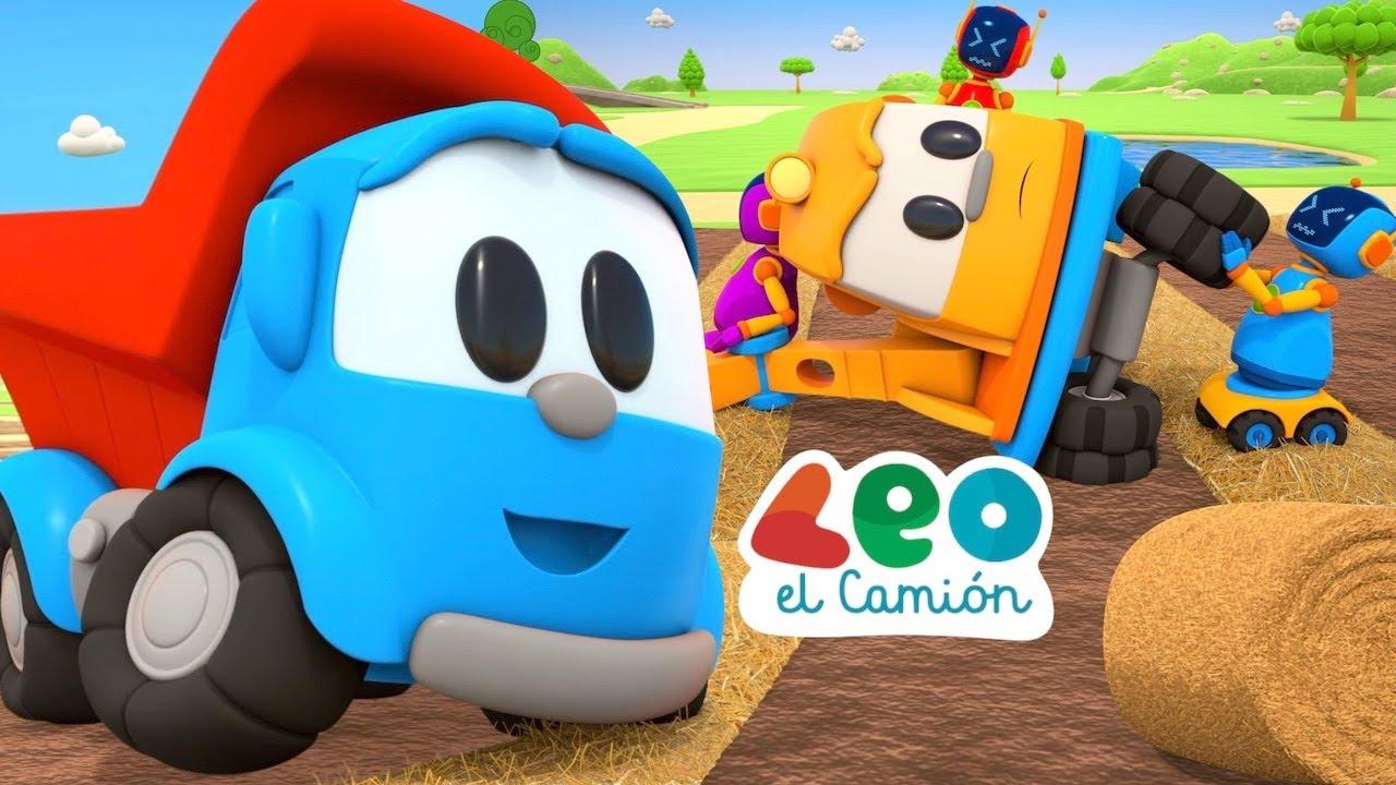 Leo el Camión - Leo y La Empacadora Circular - Nueva Temporada