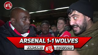 Arsenal 1-1 Wolves | Emery Bottle's All The Leads We Get!!
