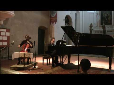 Duo Verzaro: Brahms sonata in F, Op.99 - Allegro vivace (excerpt)
