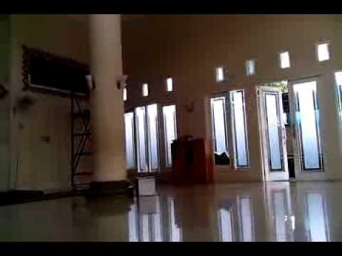 Aufa Kaligrafi - Proyek Kaligrafi Masjid Raudhatul Jannah Sungkai Kab. Banjar