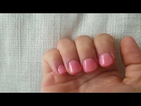 Powder Dip Nails With Tips