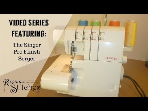 singer pro finish serger overlock introduction youtube. Black Bedroom Furniture Sets. Home Design Ideas