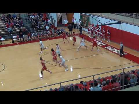 2017-18 Stilwell Indians at Fort Gibson Tigers REGIONALS Boys Basketball