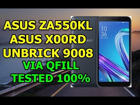 SOLUSI UNBRICK ASUS ZENFONE LIVE L1 X00RD MODE 9008 VIA QFILL