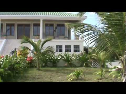 Ocean Front Home on North Ambergris Caye For Sale - Belize Real Estate.wmv