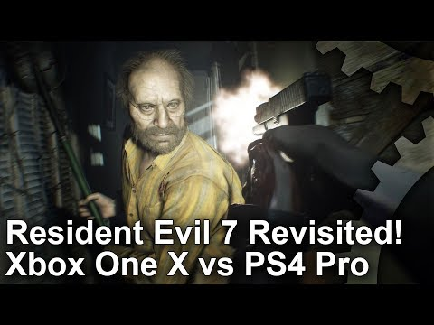 Resident Evil 7's Xbox One X patch offers a big boost over the