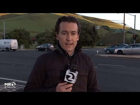 Reporter Nearly Misses Being Hit By Car While Live on TV