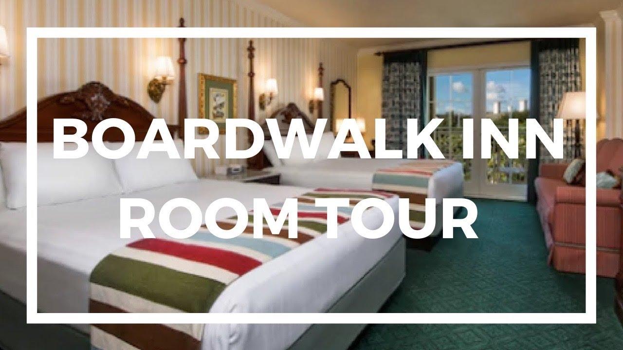 Disney S Boardwalk Inn Resort Room Tour World Hotels