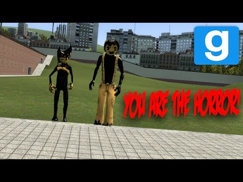 PLAYABLE BENDY AND THE INK MACHINE CHARACTERS MOD! | Garry's Mod