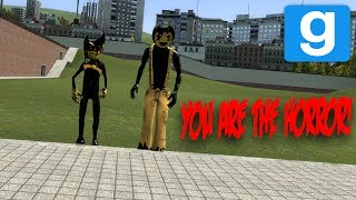 playable bendy and the ink machine characters mod   garry s mod