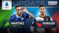 Marktwerte Serie A: Lautaro Martínez überholt Cristiano Ronaldo   TRANSFERMARKT
