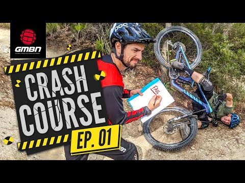 How To Stop Crashing On Your Mountain Bike | GMBN's Crash Course Ep. 1