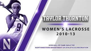 2018 Hall of Fame - Taylor Thornton