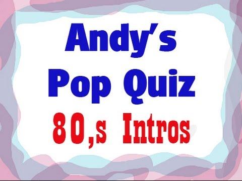 Pop Quiz No80  20 x 80s Intros