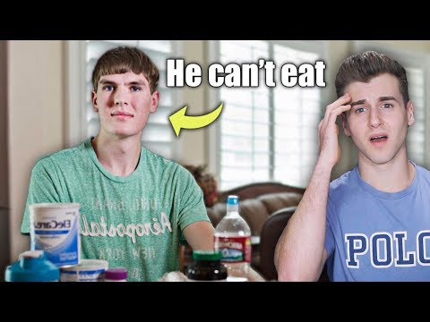 Meet The Boy Allergic To Food