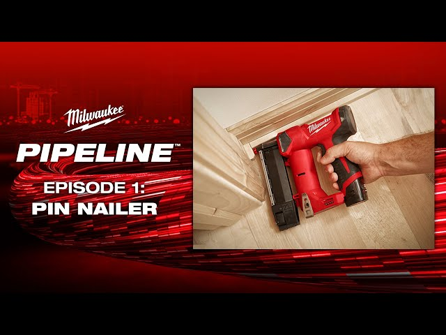 Milwaukee® Pipeline™: Pin Nailer