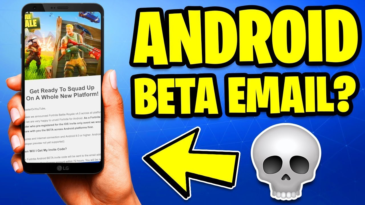 fortnite on android beta