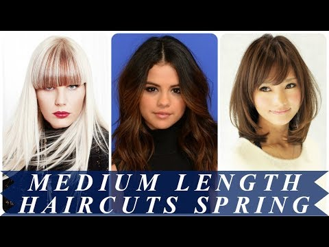 20 trending medium length haircuts for women spring 2018