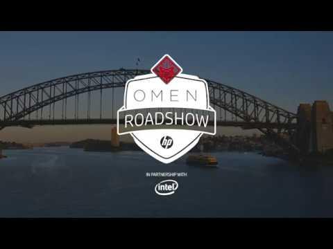 Behind the scenes of the OMEN Roadshow