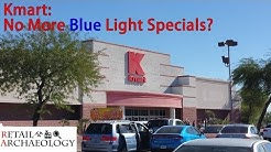 Kmart: No More Blue Light Specials? | STORE CLOSING NOVEMBER 2017 | Retail Archaeology
